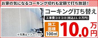 コーキング打ち替え 10.0万円